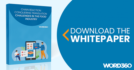 Conquering Translation Challenges in the Food Industry