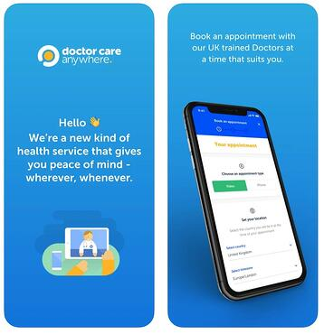 Doctor Care Anywhere Online GP