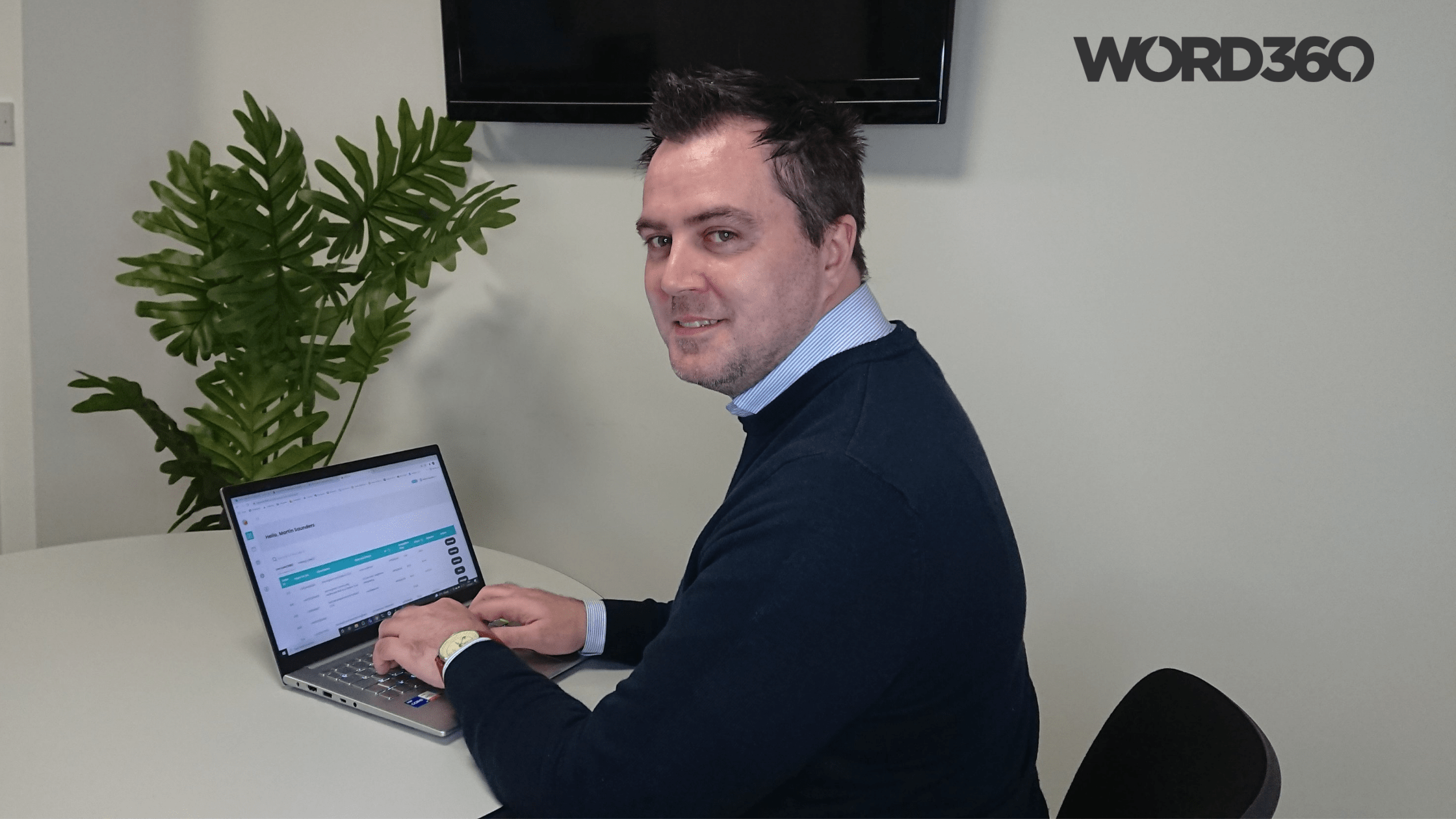Martin with the latest version of Wordskii